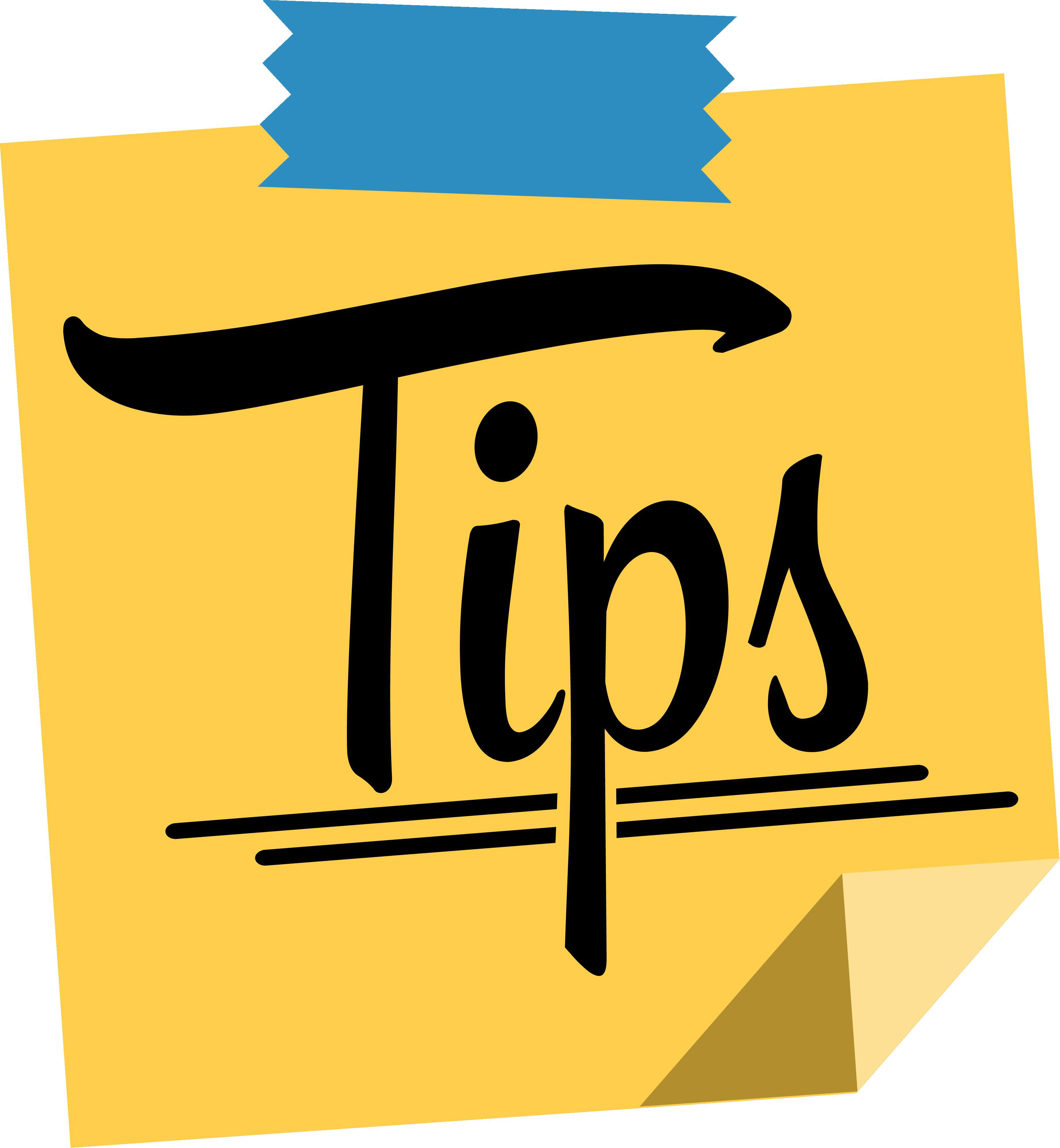Tips van de Trainers