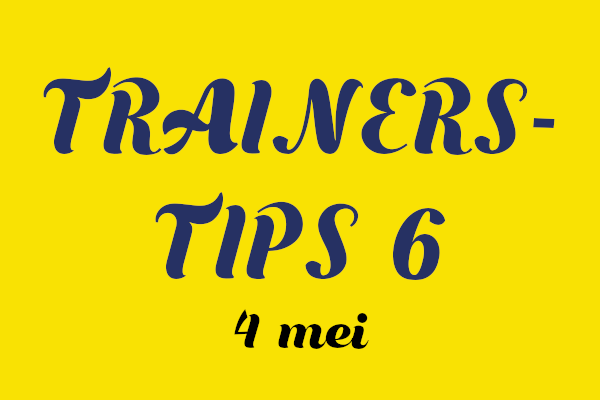 Trainers Tip Nr 6