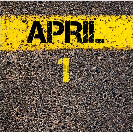 Tip/Schema voor April