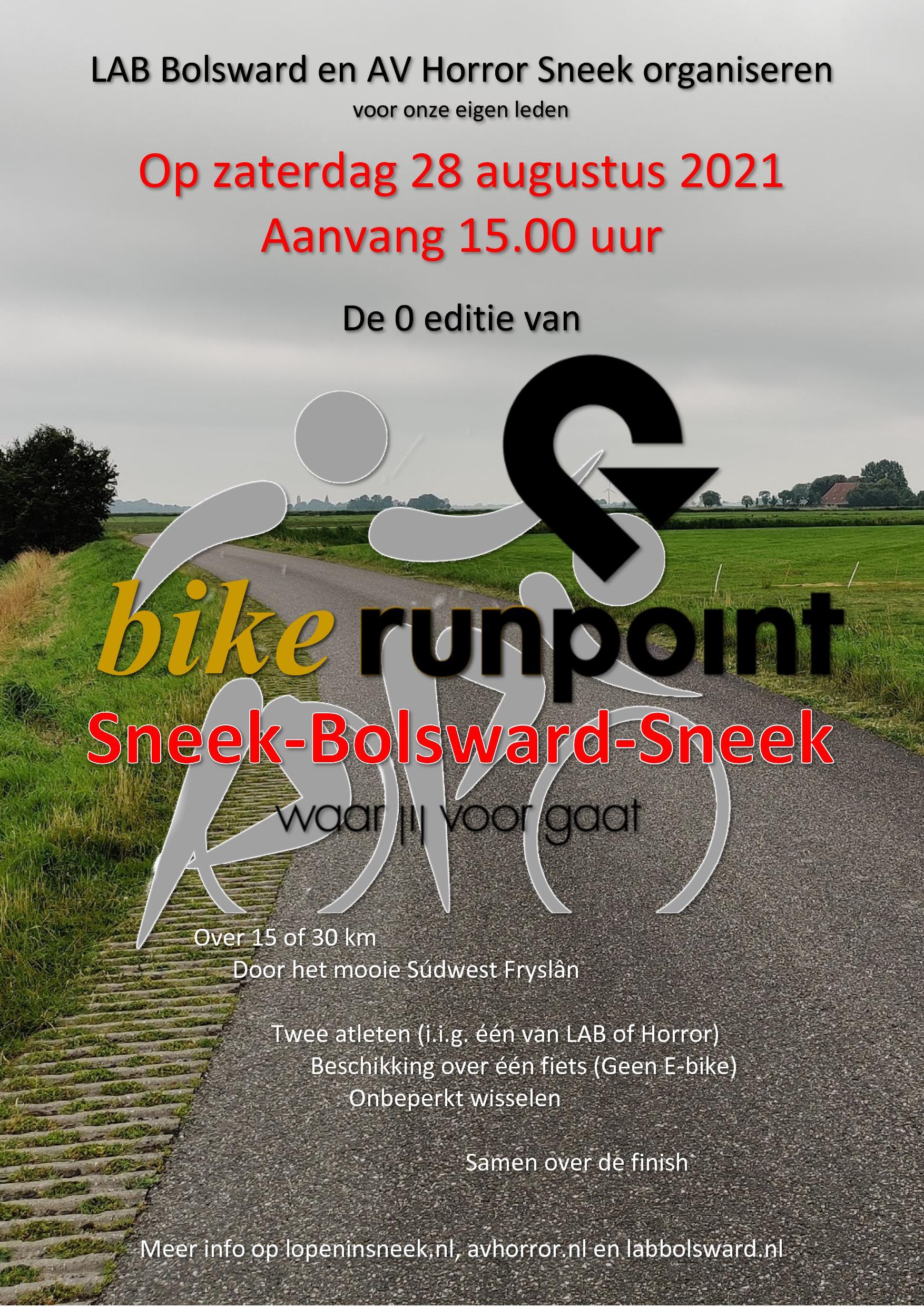 Inschrijving en routes SBS-Bike-Runpoint